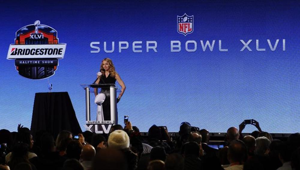 Madonna en el Super Bowl