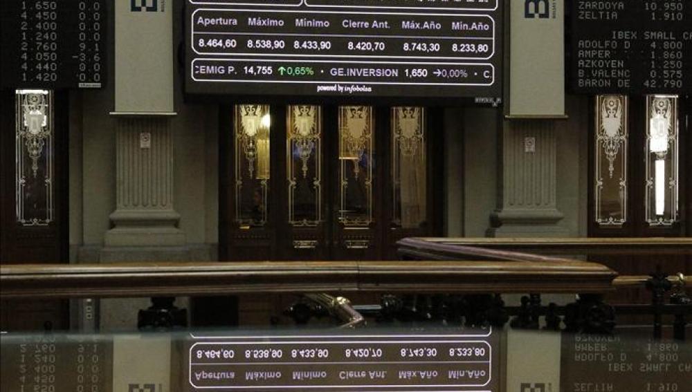 La Bolsa abre a la baja tras el anuncio de la reforma financiera
