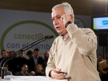 Javier Arenas, presidente del PP andaluz