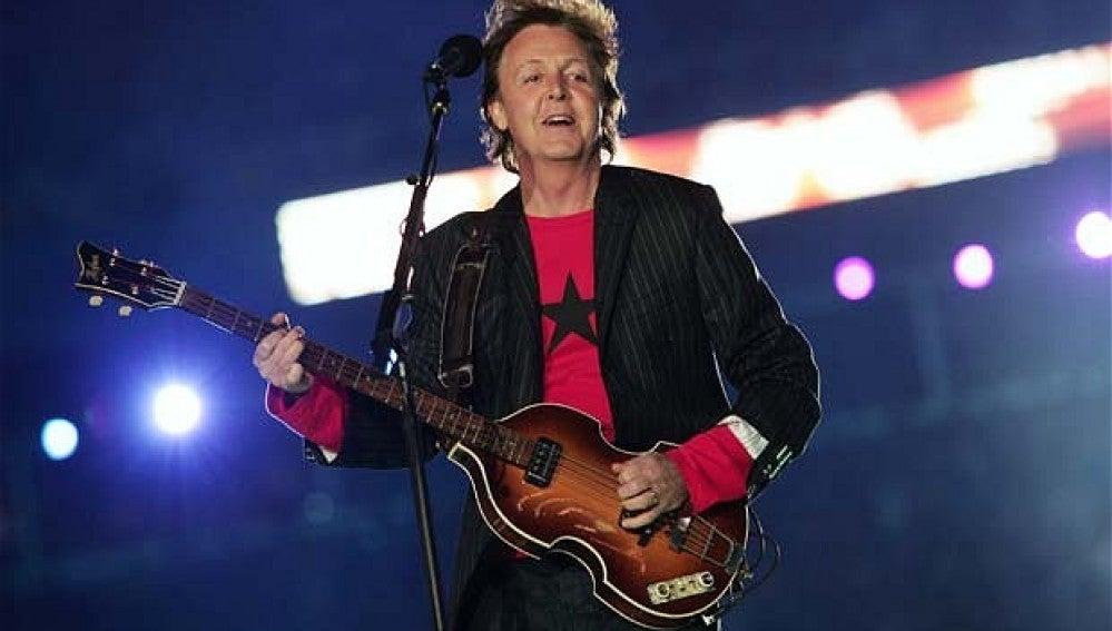 Paul McCartney en la Super Bowl