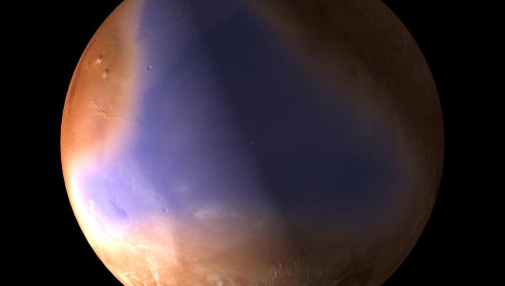 La ESA halla pruebas de que un océano cubrió parte de Marte