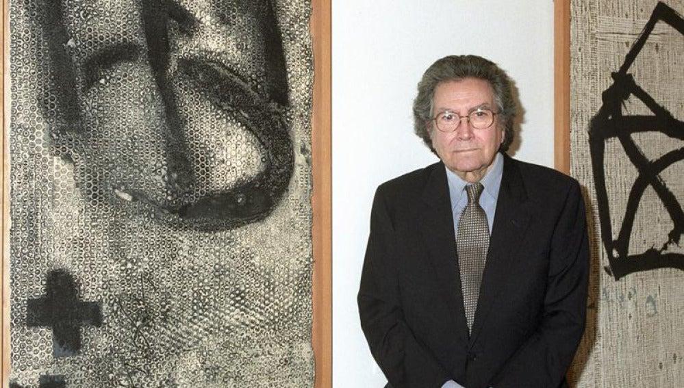 El artista español Antoni Tàpies