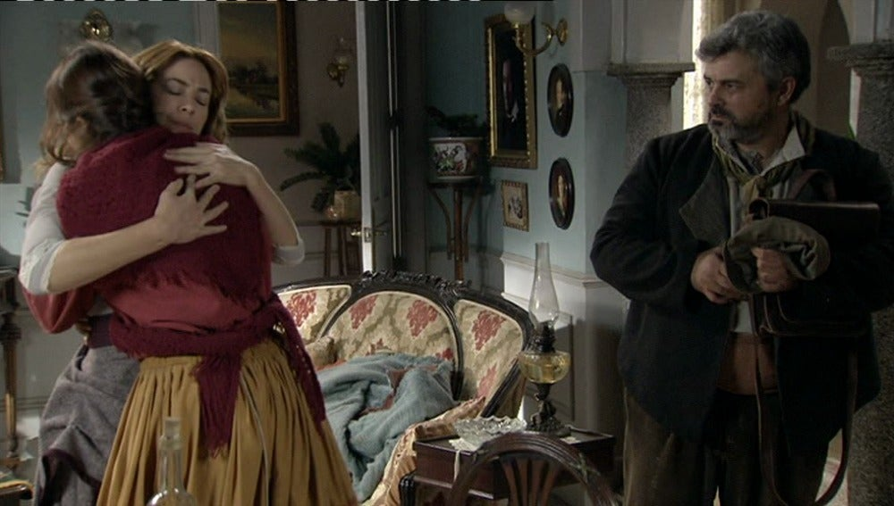 Sara impide a Jimena que se marche de Arazana
