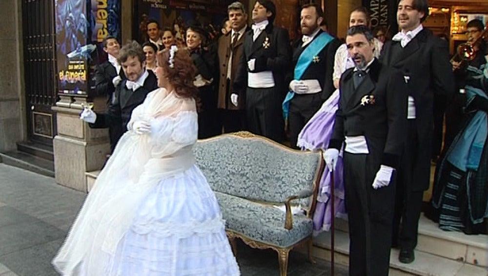 La ópera, a pie de calle en Madrid