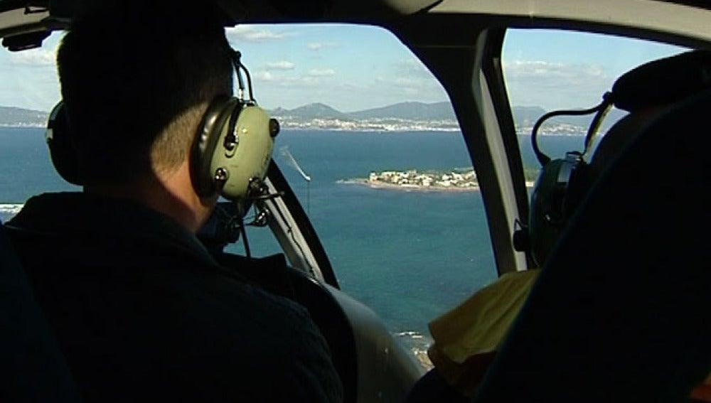 Viaje por la costa gallega en helicóptero