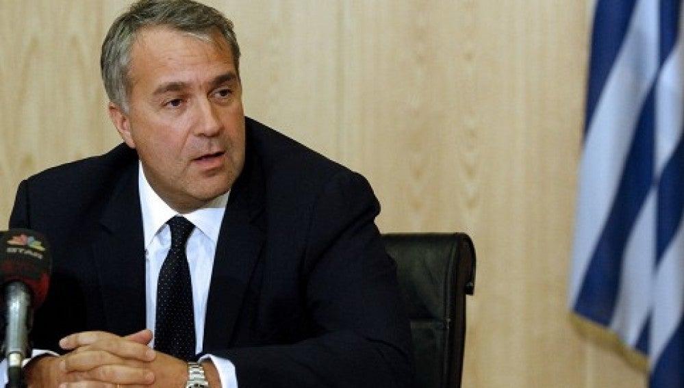 Ministro de Transporte griego, Makis Voridis