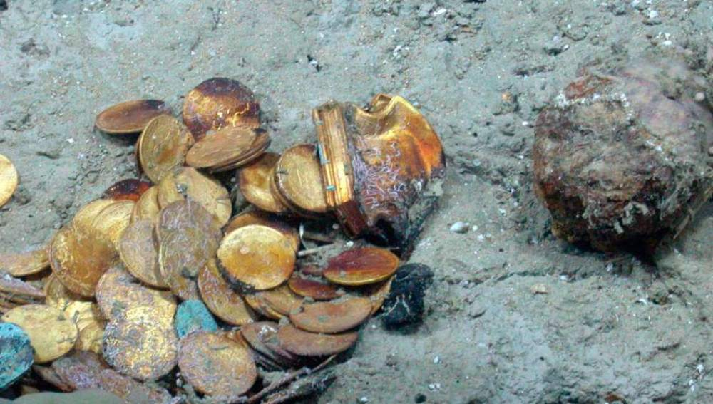 Tesoro encontrado por Odyssey