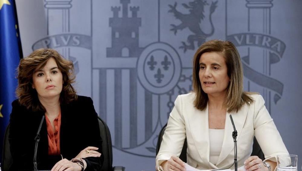 Santamaría y Báñez explican la reforma laboral