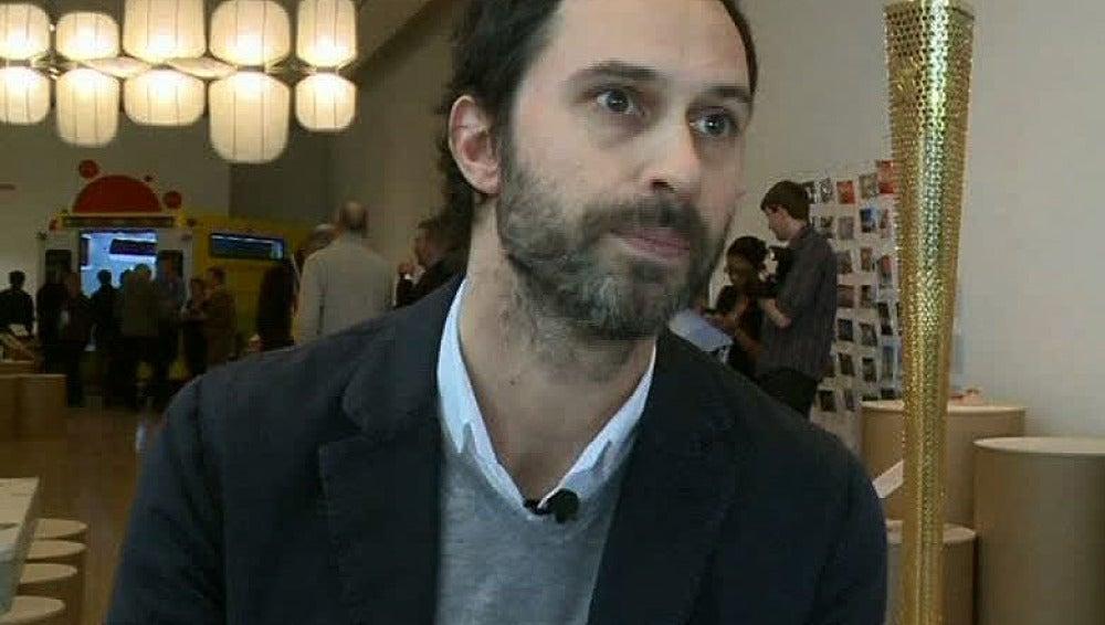 Edward Barber, diseñador de la antorcha de Londres 2012