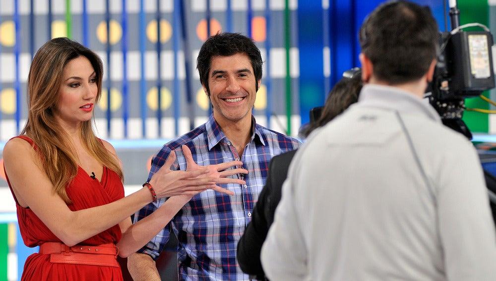 Jorge y Paloma en La Ruleta de la Suerte en San Valentín