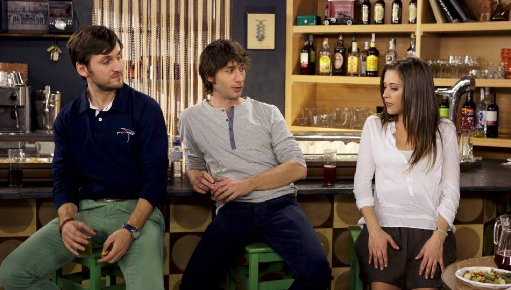 Jorge, Ángel y Sandra