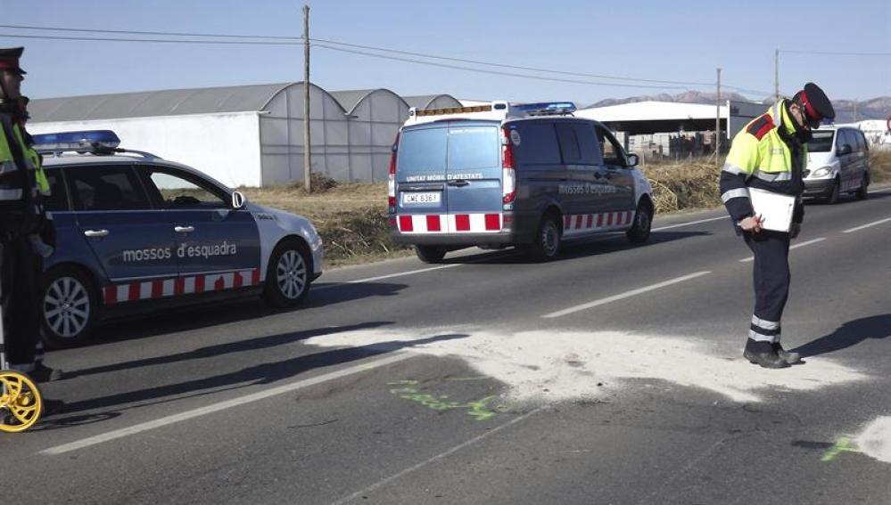 Accidente de tráfico en Lleida