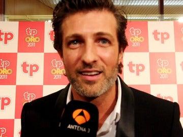 Jesús Olmedo en los Premios TP de Oro 2012