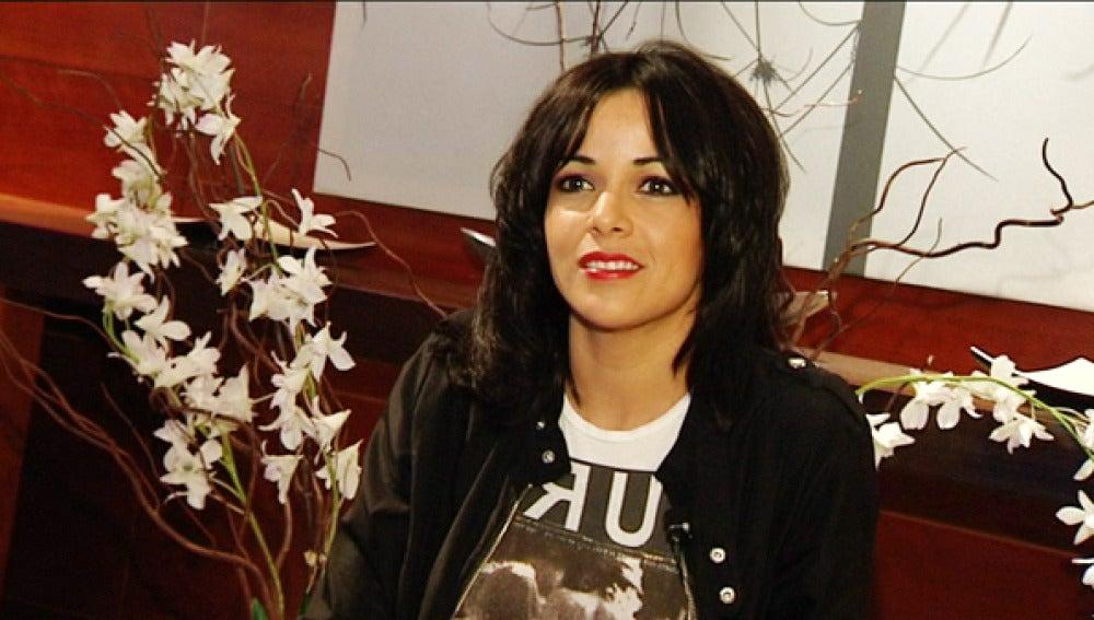 Raquel del Rosario, vocalista del 'Sueño de Morfeo'