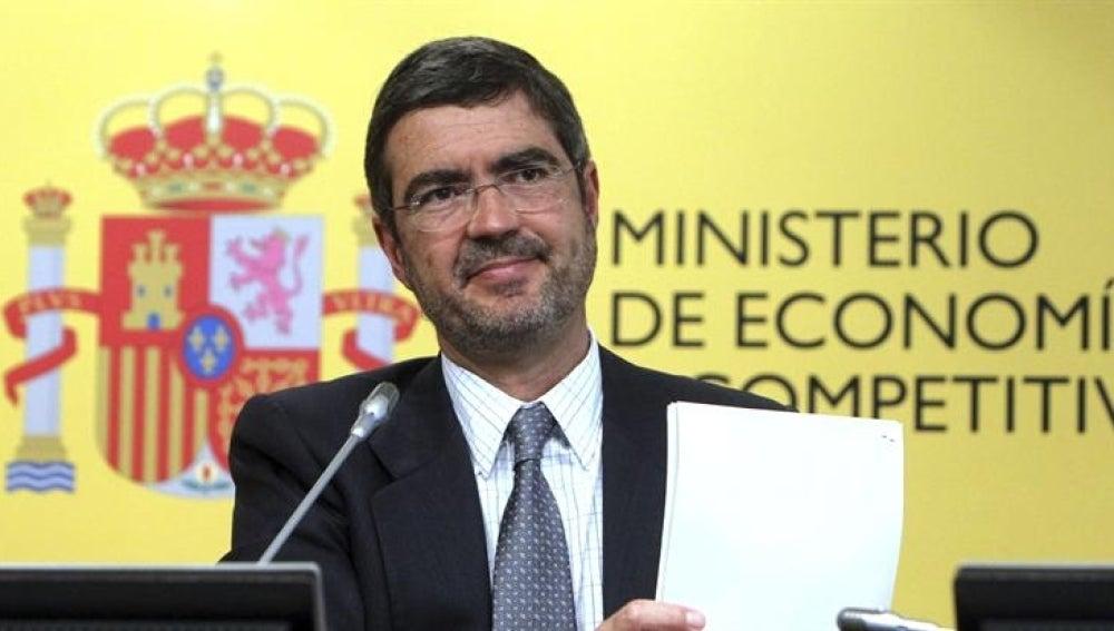 En la imagen, el Secretario de Estado de Economía y Apoyo a la Empresa, Fernando Jimenez Latorre