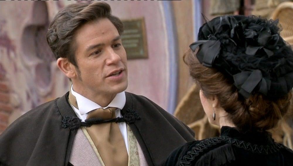 Álvaro quiere dar celos a Lupe con Emilia