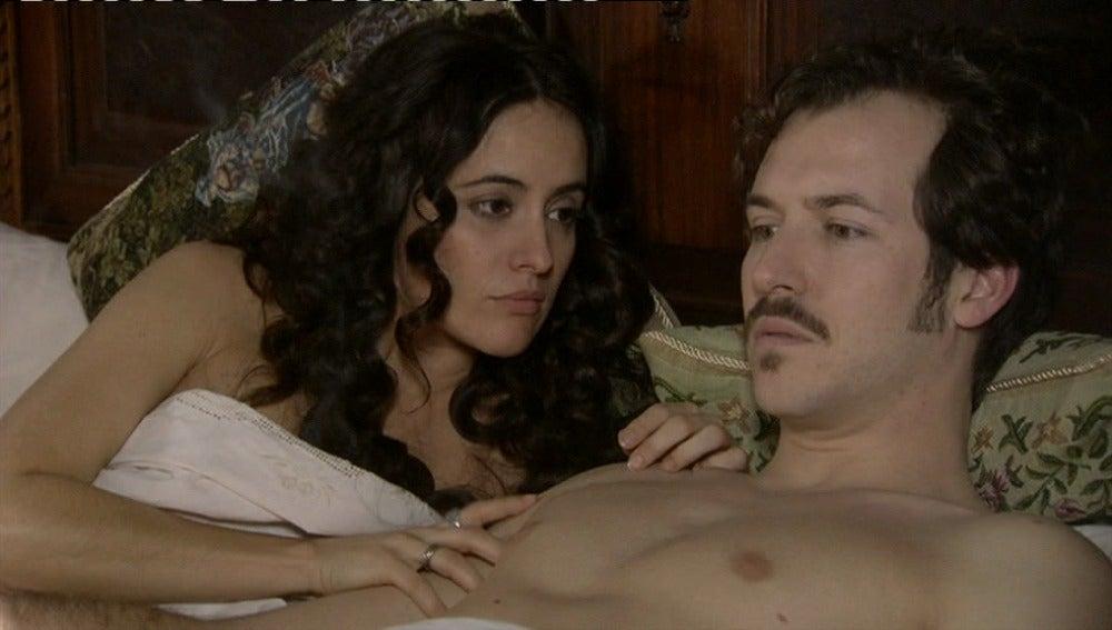Aníbal le confiesa a Teresa que es estéril