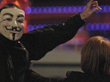 Los hackers también interrumpieron la gala