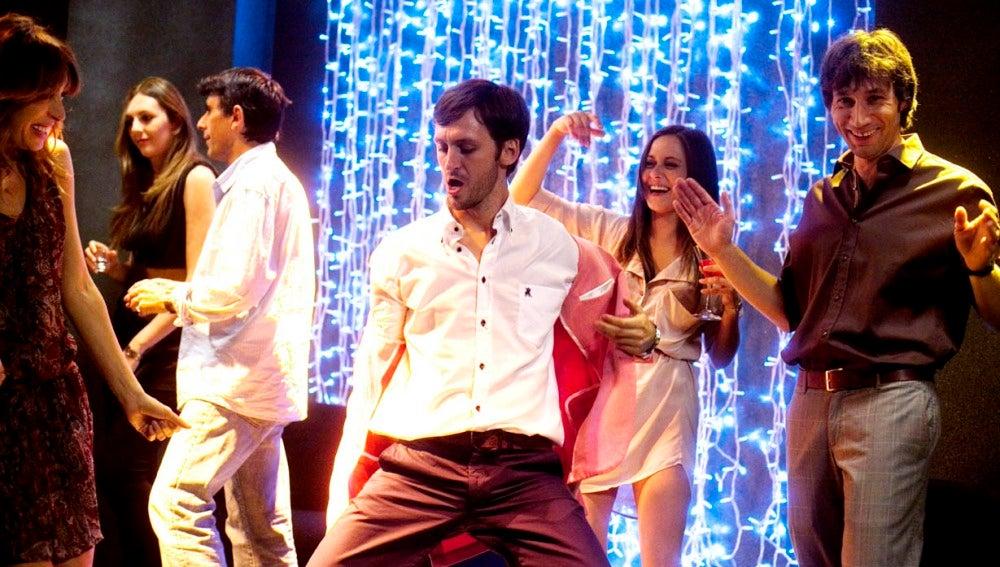 Jorge, en la pista de baile