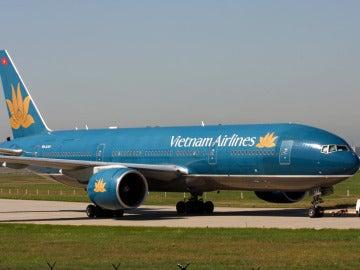 Avión de Vietnam Airlines