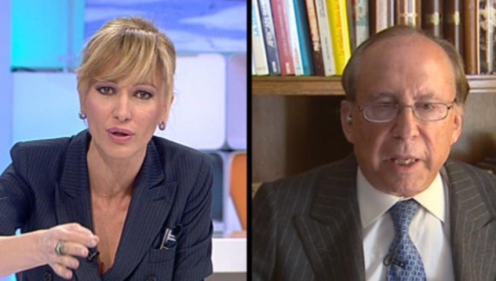 Susanna Griso, indignada en la entrevista con Ruiz-Mateos