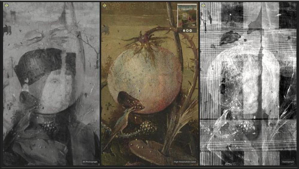Descubierto un rostro oculto en un cuadro de El Bosco