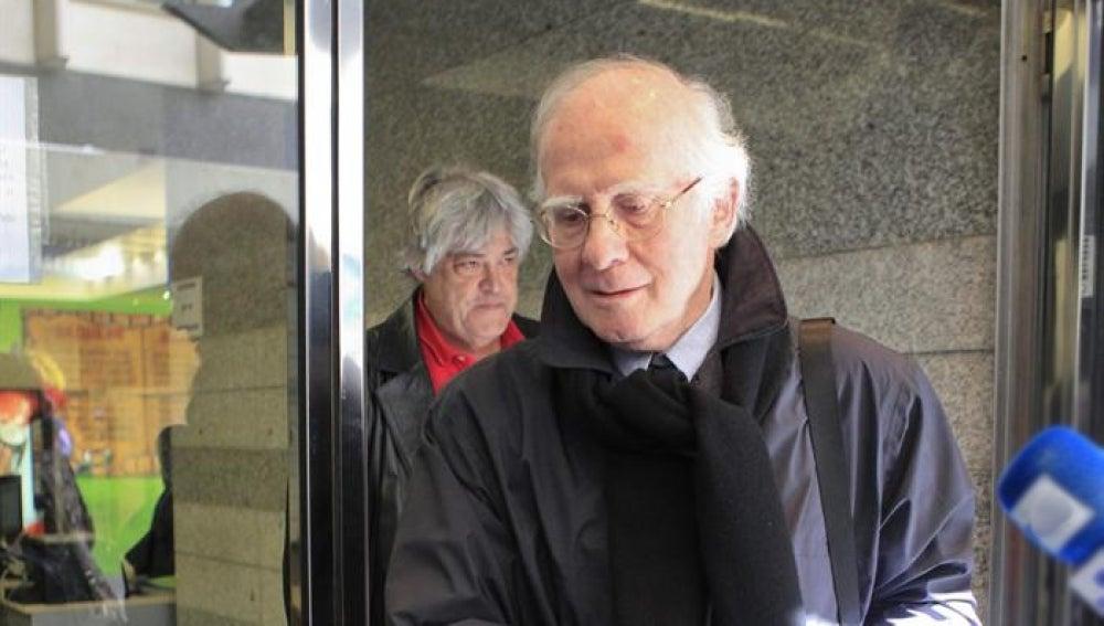 El expresidente de la Sociedad General de Autores de España (SGAE), Tedy Bautista