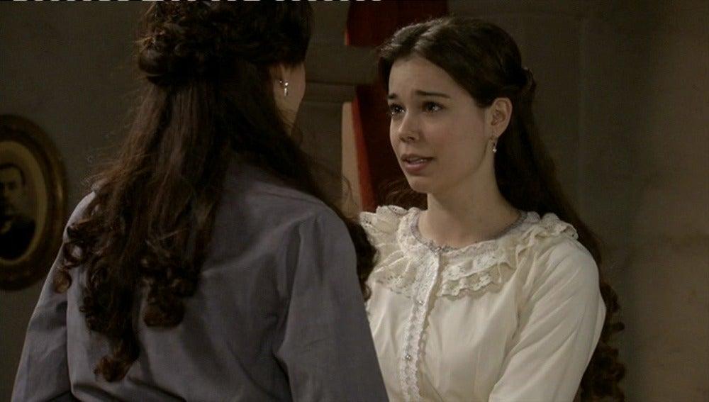 Inés, nerviosa preparando su boda