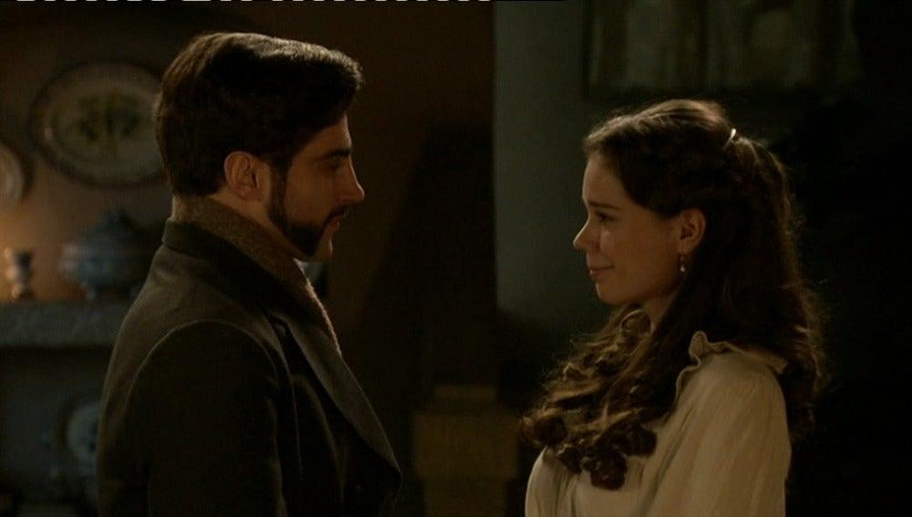 Mario le pide en matrimonio a Inés