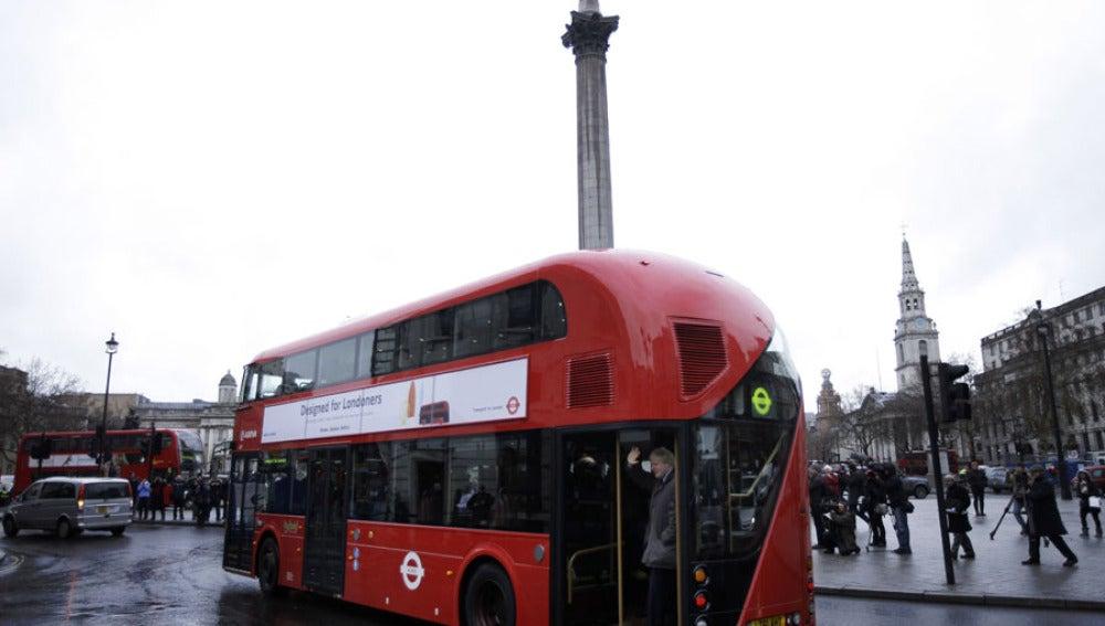 Nuevos autobuses en Londres
