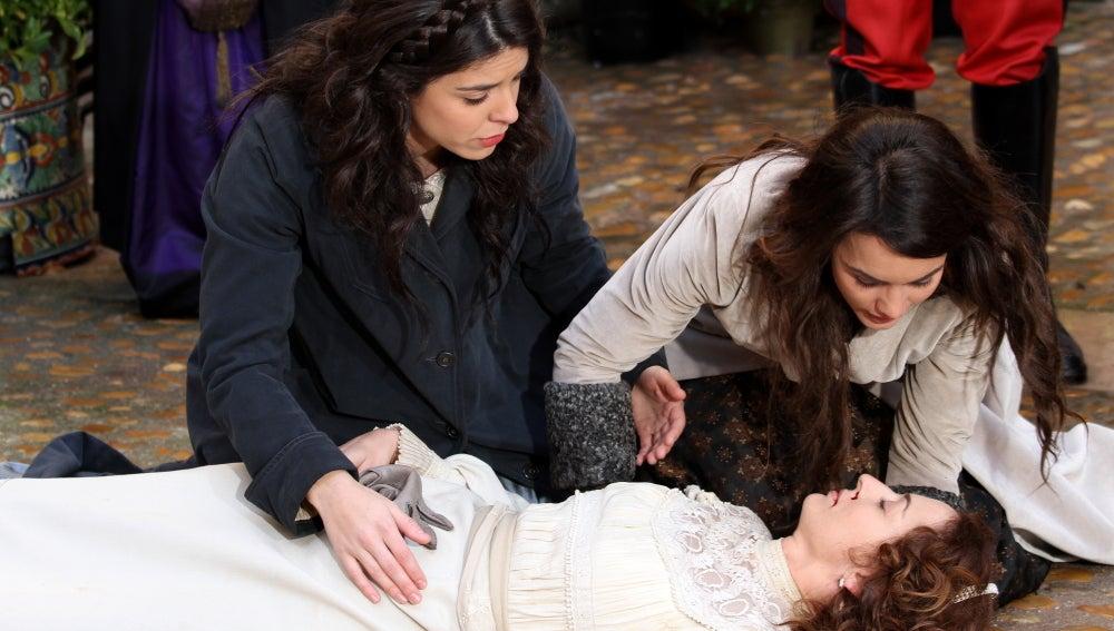 Gregoria certifica la muerte de Águeda