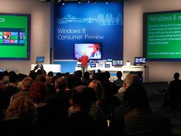 Microsoft presenta Windows 8
