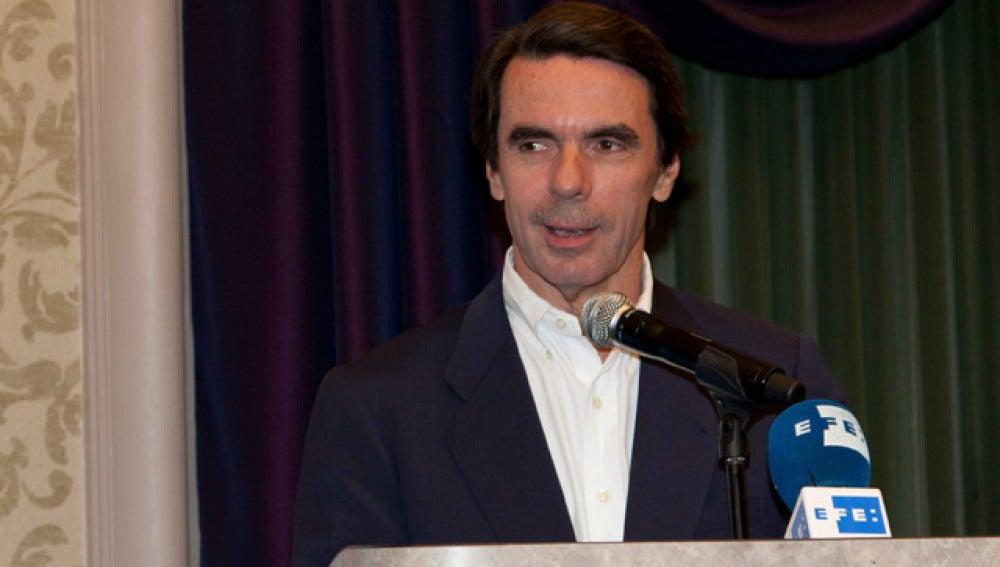 Aznar, en Estados Unidos