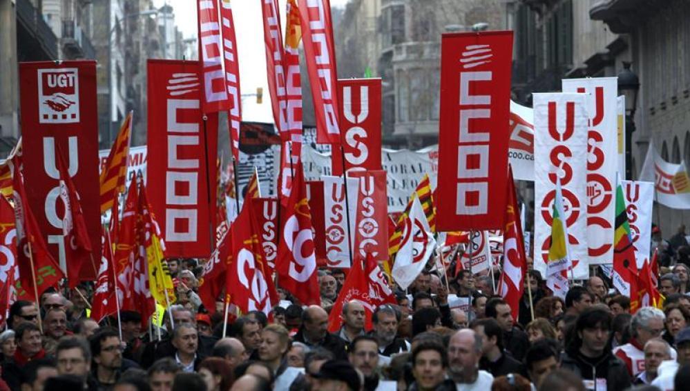Jornada de manifestaciones en toda España