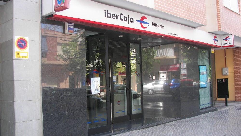 Una sucursal de IberCaja