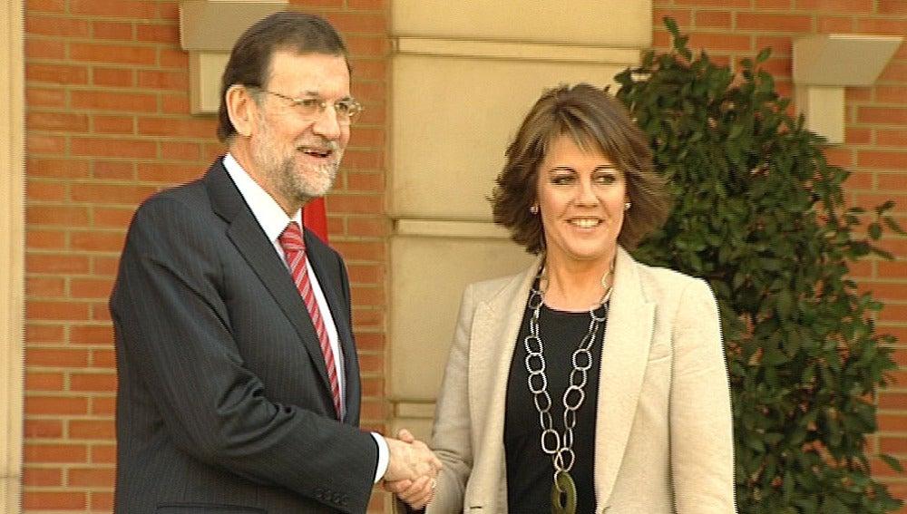 Rajoy y Barcina