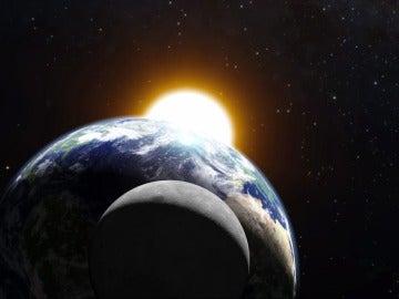 La Tierra, la Luna y el Sol