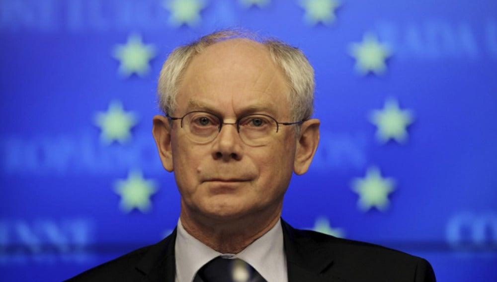 Herman Van Rompuy, presidente del Consejo Europeo