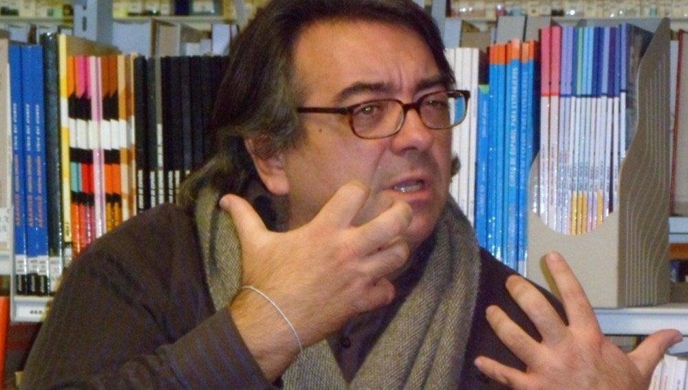 El escritor, Jesús Ruiz Mantilla