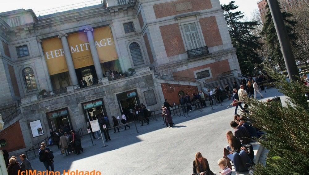 La exposición del Hermitage muestra 180 obras. Foto: Marino Holgado