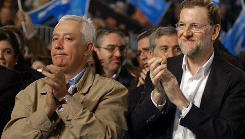 Mariano Rajoy y Javier Arenas