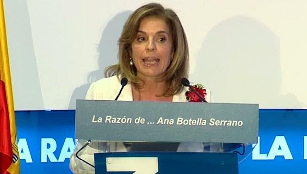 Ana Botella en el foro 'La Razón'
