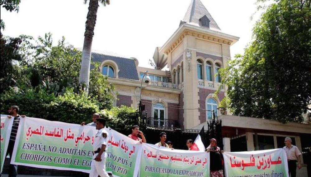 Embajada española en Egipto