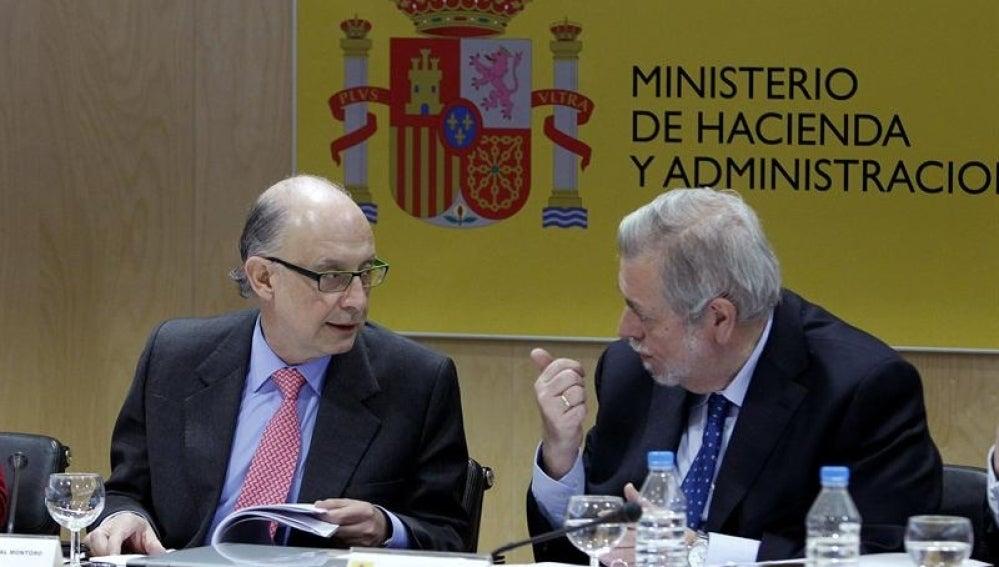 Cristóbal Montoro, en el Consejo de Política Fiscal y Financiera