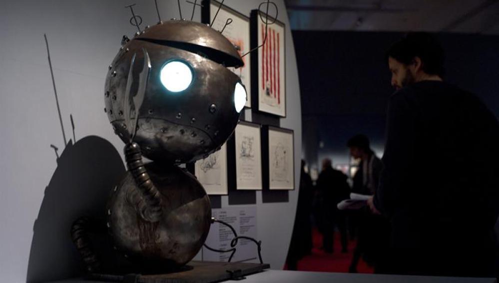 Robot de Tim Burton