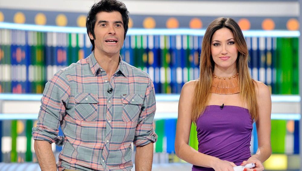 Jorge y Paloma en el Especial Fundación Antena 3