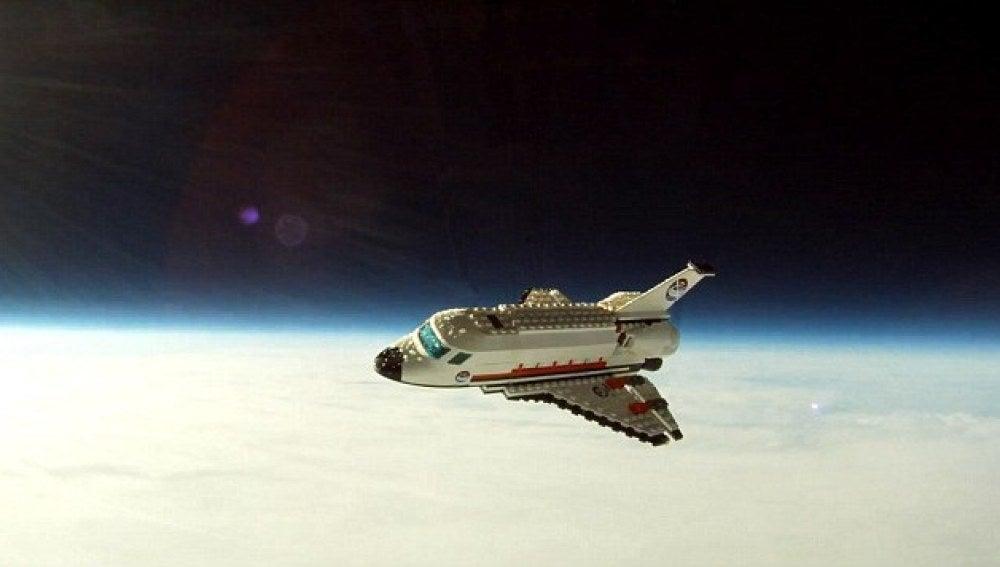 Transbordador espacial de Lego