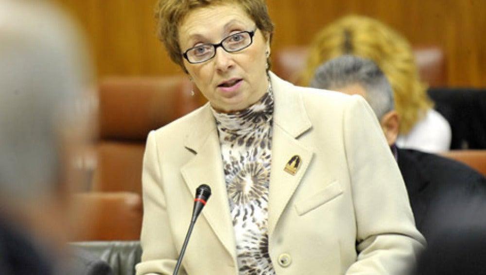 Consejera de Hacienda del Gobierno Andaluz, Carmen Martínez