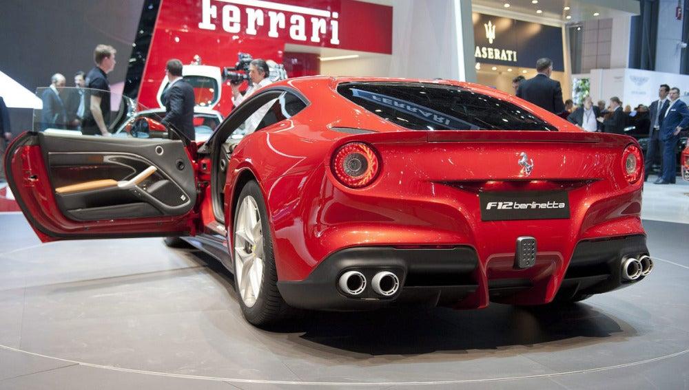 Ferrari en el Salón del Automóvil