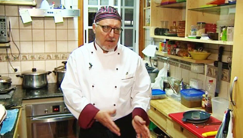 Cocinero de la tasca casera